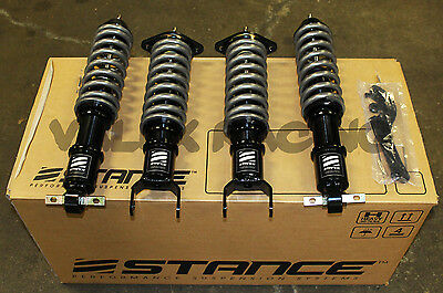 Stance XR1 16 Way Adjustable Coilovers 97-10 Chevrolet Corvette C5 / C6 Chevy