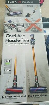 NEW SEALED!! Dyson V8 Absolute Cordless Stick Vacuum 214730-01