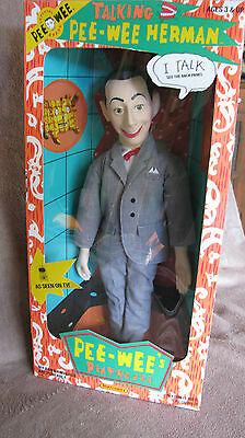 """NEW PEE WEE HERMAN Talking 18"""" Action Doll 1987 MATCHBOX BOX NEVER OPENED"""