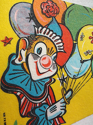 """Vintage (marked 1974) Circus Pennant - """"Circus City Festival"""" Peru, Indiana"""