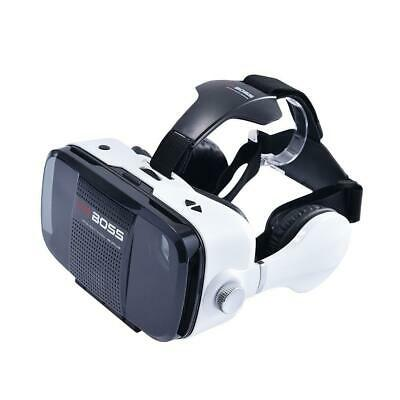 2019 VR BOX Headset VR BOSS Virtual Reality Glasses 3D for Samsung Iphone 6 7 X