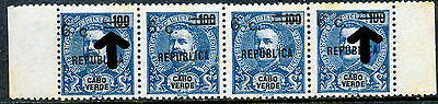 ## CAPE VERDE 1921 Surcharge on King Carlos ERROR (A190)