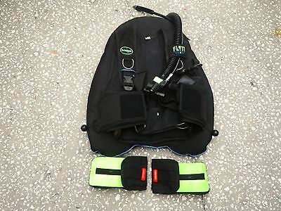 DACOR WEIGHT Integrated FLYT PAK BCD Buoyancy Compensator Diving Dive Scuba TECH