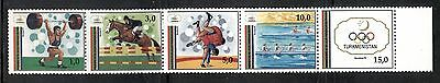 SPORT: BARCELONA OLYMPIC GAMES ON TURKMENISTAN 1992 Scott 22, MNH
