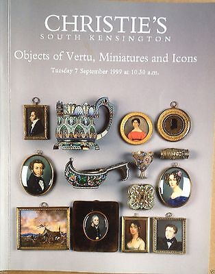 Christie's Catalog Objects of Vertu Miniatures and Icons 7 September 1999 London
