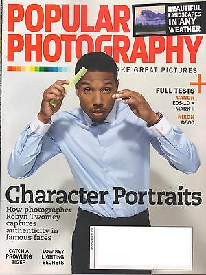 8 Issues of Popular Photography Magazine - January - June 2016
