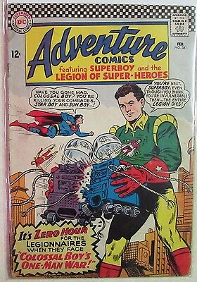 DC Comics - Adventure Comics Issue #341 - Silver Age -1960s - Superboy