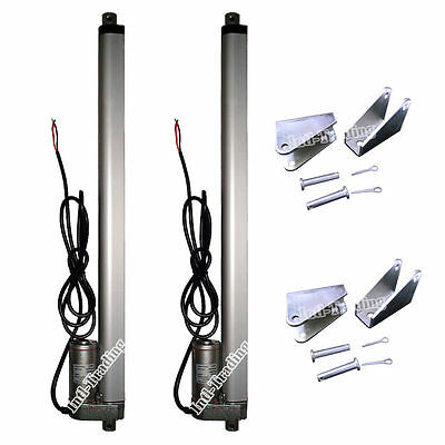 """2x16"""" 12V Heavy Duty 220lbs Linear Actuator Multi-purpose for Medical Electronic"""