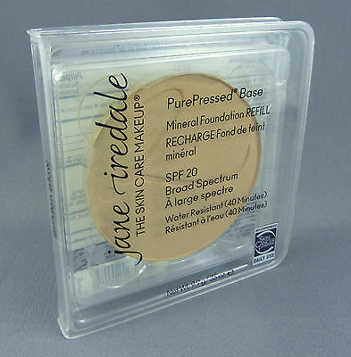 Jane Iredale Golden Glow - Pure Pressed Base Mineral Foundation Refill 9.9g New