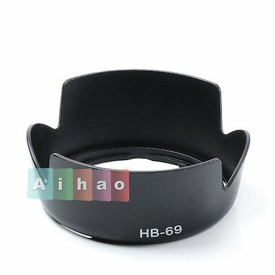 New HB-69 Bayonet Lens Hood For Nikon AF-S DX NIKKOR 18-55mm f/3.5-5.6G VR II