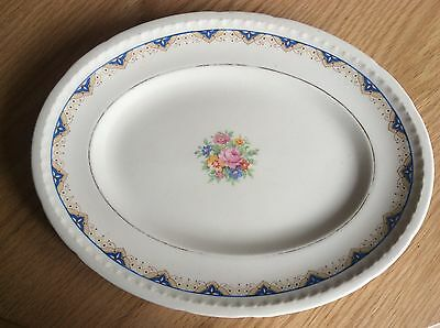 Antique Majestic Vellum Platter By Swinnertons, Staffordshire England