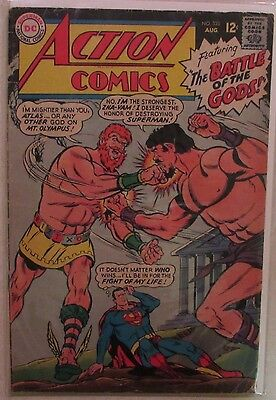 DC Comics - Action Comics Issue #353 - Silver Age -1960s - Superman