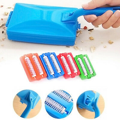 Handheld Carpet Table Sweeper Crumb Dirt Brush Cleaner Collector Roller Handhold