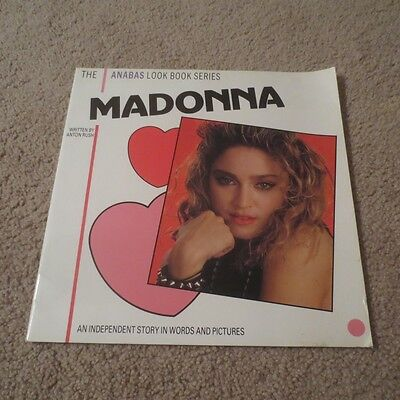 1985 Madonna Anabas Look Book Series Independent Story In Words & Pictures Book