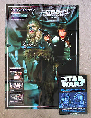 Star Wars BLUEPRINTS POSTERS: ULTIMATE BOXED SET COLLECTION Solo Vader C-3PO OOP