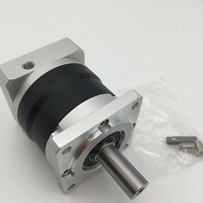 Nema24 Planetary Speed Reducer 20:1 Gearbox 60mm Flange 14mm Shaft fr Servo Moto