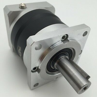 25:1 Servo Planetary Gearbox Nema24 Speed Reducer 14mm Shaft fr 60mm Servo Motor