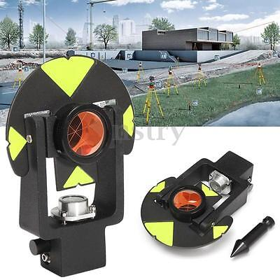 17.5mm Black Mini Surveying Prism With Carry Bag For Leica Total Stations AU