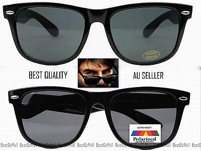 Bamboo Mens Womens Retro Classic Wayf Style Eco Style Sunglasses-AUS Seller