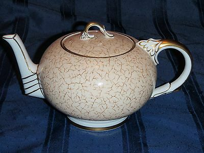Paragon Art Deco Large Teapot - absolutely Stunning!