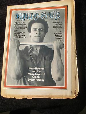 Vintage August 3, 1972 Rolling Stone issue #114 Huey Newton Rolling Stones