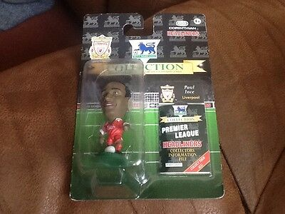 Job Lot Of 14 Corinthian Headliners Lv42 Paul Ince Liverpool Carded Figures