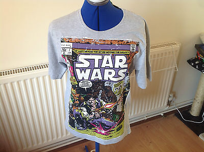 Official Star wars Comic book style T Shirt size Small