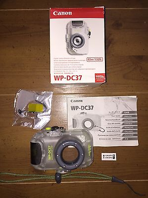 CANON WP-DC37 Digital Camera Waterproof Dive Housing Case For IXUS 130