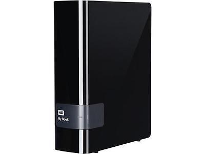 "WD My Book 4TB USB 3.0 3.5"" Hard Drives - Desktop External WDBFJK0040HBK Black"