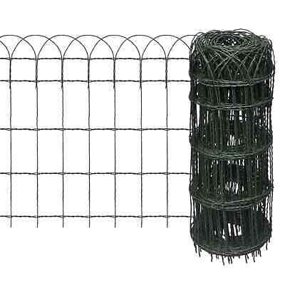 S# New 10x0.65m Expandable Mesh Fence Garden Edging Border Iron Wire Chain Fenci