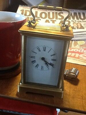 Brass Carriage Clock (8 Day) Not Working