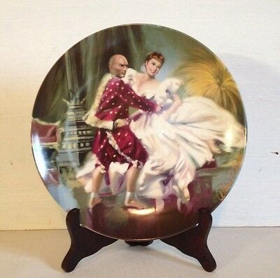 "Knowles The King And I Collector Plate ""shall We Dance"" 2Nd Issue Plate 1985!!"
