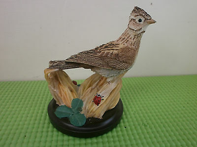 The Country Bird Collection Ornament, Skylark, Andy Pearce, Eaglemoss, 2003