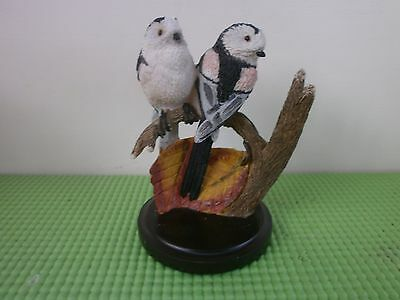 Country Birds Collection Bird Figurine, Long Tailed Tits, Andy Pearce, 2002