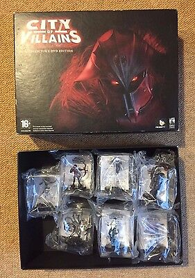 City Of Heroes Villains Limited Edition Heroclix Set SEALED -- Fast Post