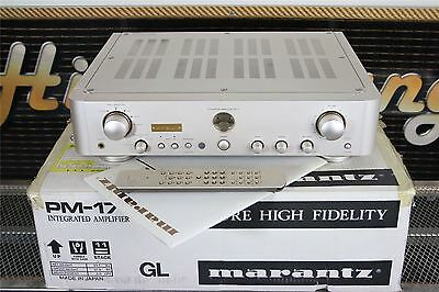 MARANTZ KI SIGNATURE PM17 AMPLIFIER Rare UK Tuned Version BOXED/Remote