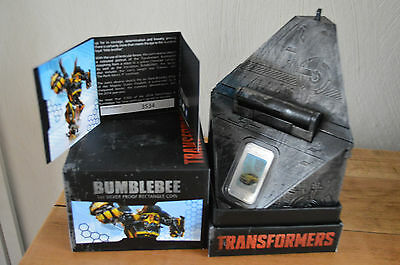 1once argent Transformers Tuvalu 2014 BUMBLEBEE 1 $ dollars silver ALLSPARK PP