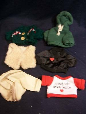 """Bears ~✿~ Lot of Clothes for 8-10"""" Bear D-41"""