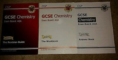 GCSE Chemistry AQA Revision Guide by CGP Books (Paperback, 2006)