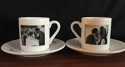 Whittard of Chelsea Coffee Cups and Saucer Set, Demi Tasse x 2
