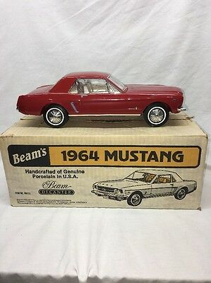 1964 Ford Mustang Jim Beam Full/sealed Whiskey Decanter Regal China