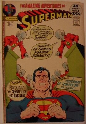 """Superman #247 (1972) """"Must there be a Superman?"""""""