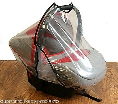 Baby Universal Car Seat Rain Cover Highly Transparent with Ventilation Net