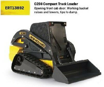 NEW Holland Toy C238 Compact Track Loader with Working Bucket Part# ERT13892
