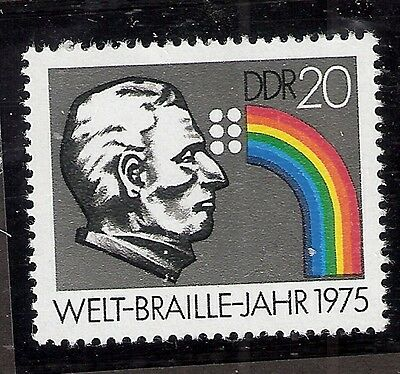 Braille, Louis MD German Democratic Republic M1993 1976 ophthalmology  medicine