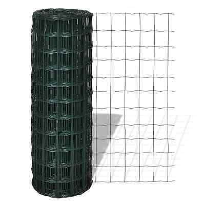 S# 1x25M Chicken Wire Pet Mesh Fence Fencing Coop Aviary Hutches Galvanised Stee