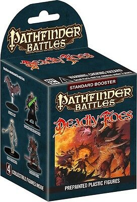 Pathfinder Battles - Deadly Foes - Standard Booster (4 pre-painted figures)