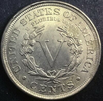 1902   Liberty  Nickel Very  Lustrous Nice Coin