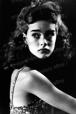 8x10 Print Brooke Shields Cute Portrait 1980's #BS15