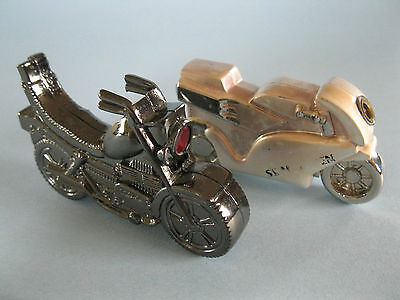 2 Novelty MotorCycle Lighters
